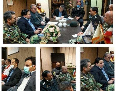 گزارش تصویری /جلسه هماهنگی استقرار اکیپ های بهداشتی و غربالگری ارتش در پلیس راه اصفهان-شیراز