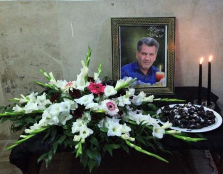 برگزاری مجلس ترحیم جانباز گرانقدر شادروان حاج محمد کریمی در شهرداری مبارکه