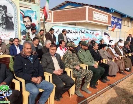 گزارش تصویری/ همایش بزرگ و شکوه اقتدار بسیجیان شهرستان مبارکه