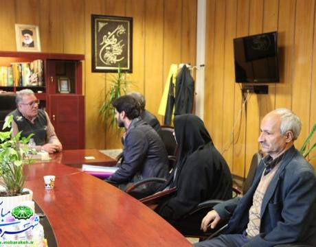 گزارش تصویری/ ملاقات عمومی شهردار مبارکه با شهروندان 18آذر 1398